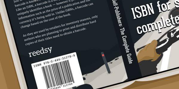 ISBN bar code print onto book Placentia